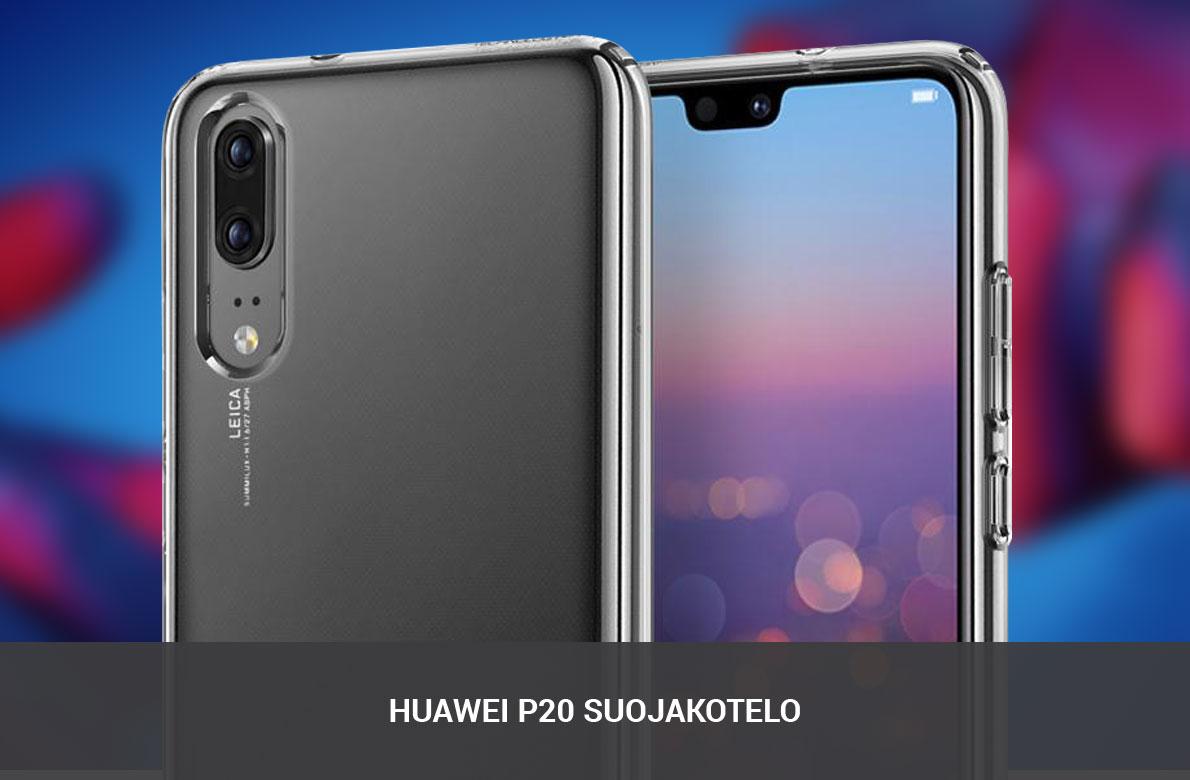 Huawei P20 suojakotelo
