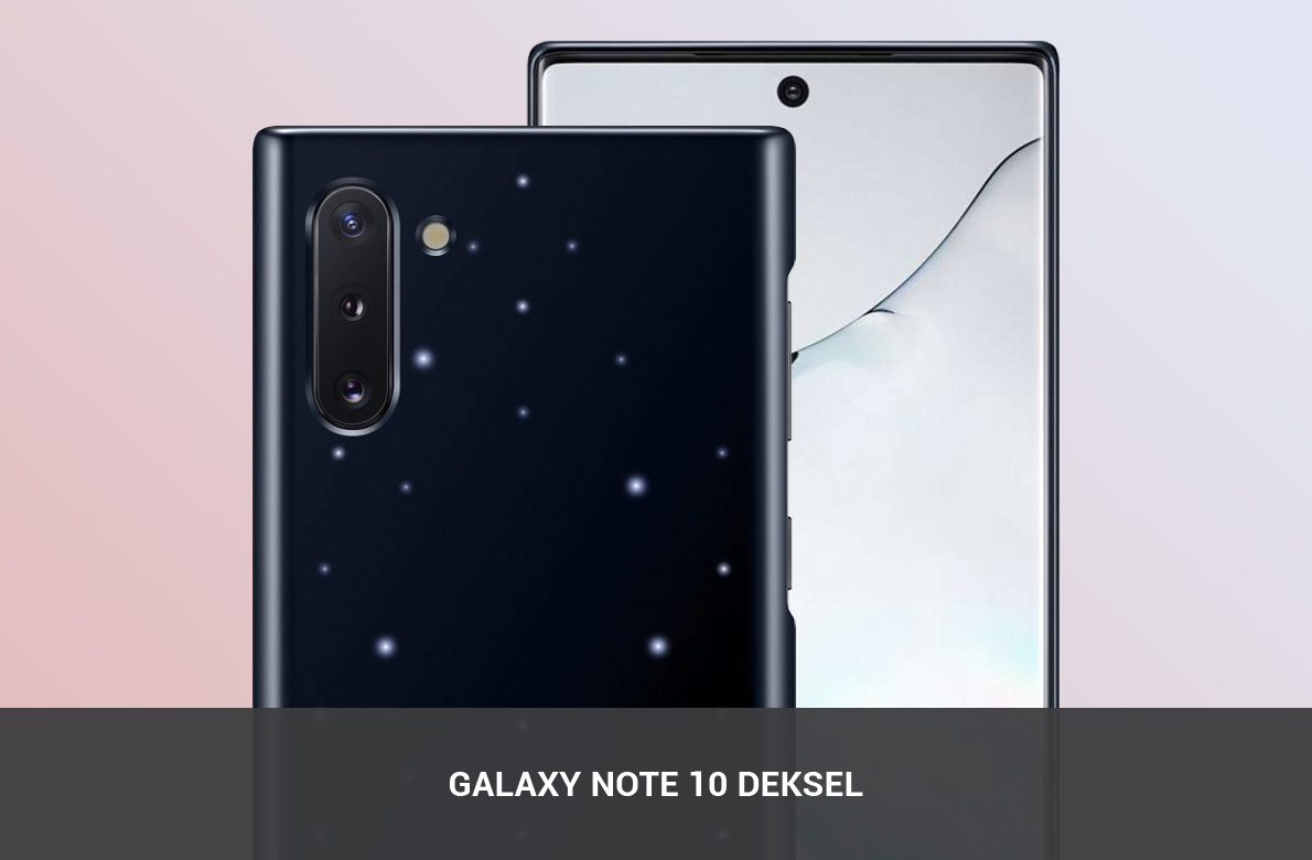Samsung Galaxy Note 10 Deksel