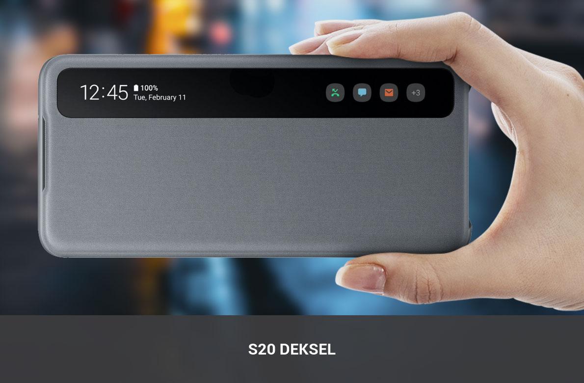 Samsung S20 Deksel