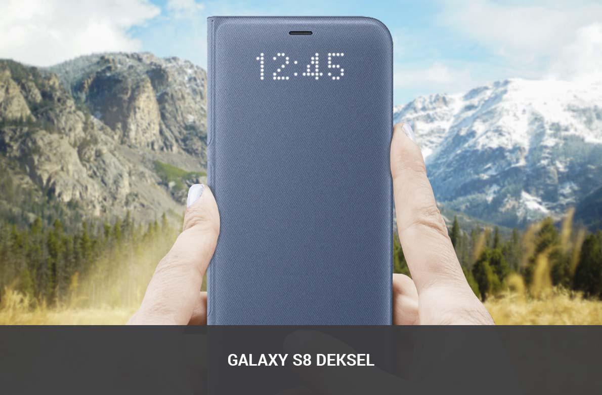 Galaxy S8 Deksel