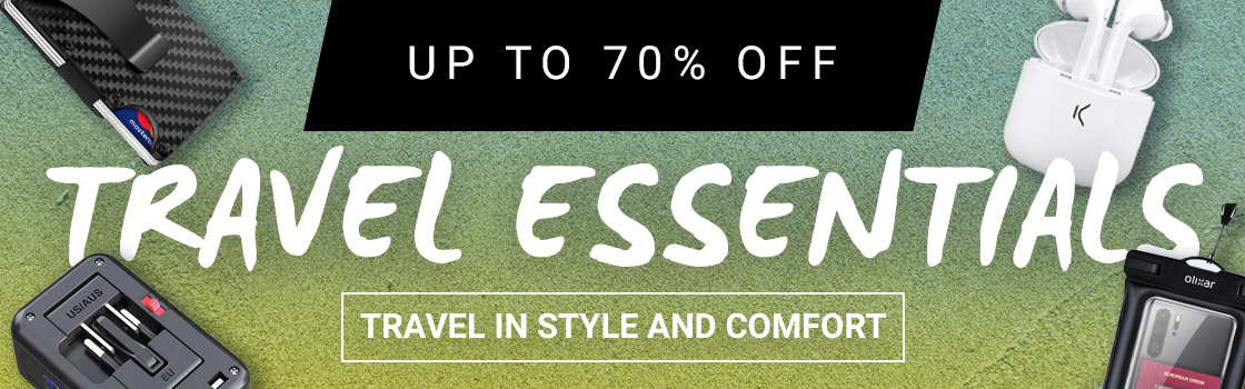 Travel Essentials Sale