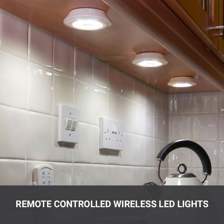Wireless LED Lights