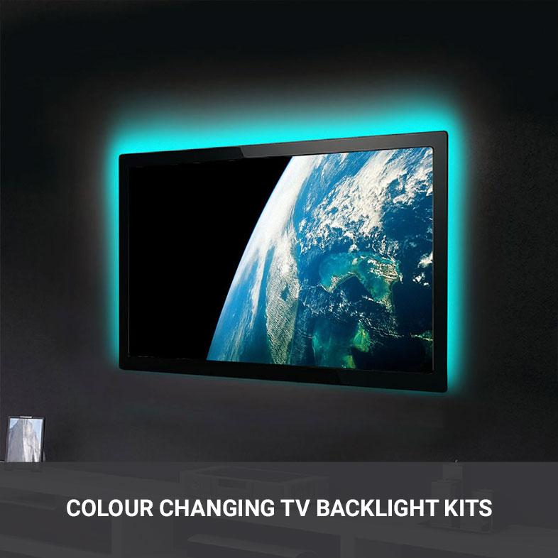Colour Changing TV Backlight Kit