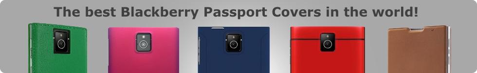 Blackberry Passport Covers