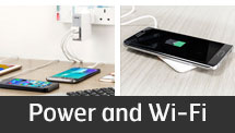 Power and Wi-Fi