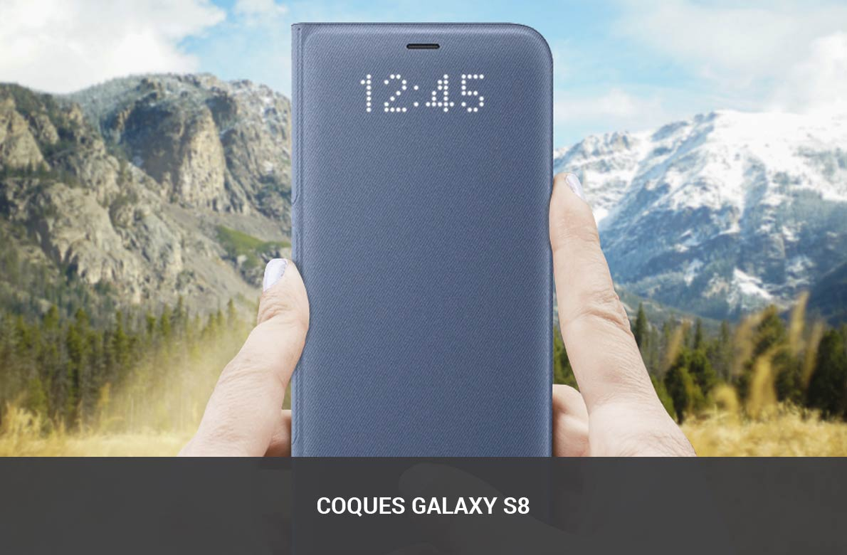 Coques Galaxy S8