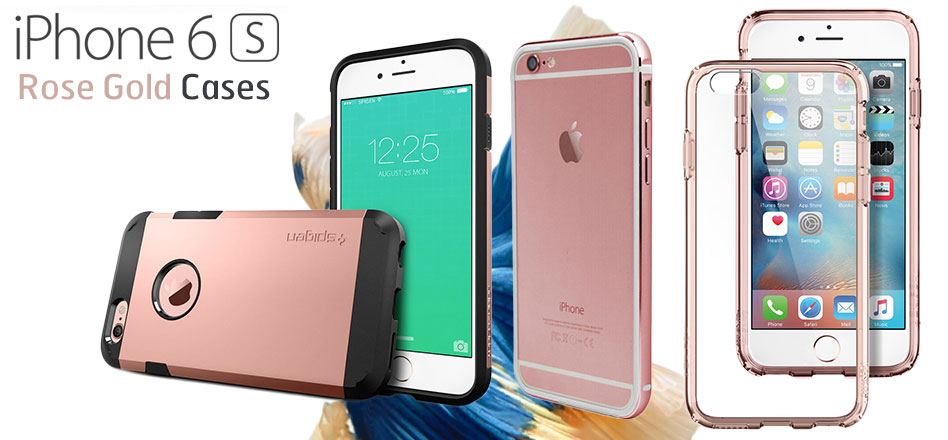 10 pink and rose gold iphone 6s cases