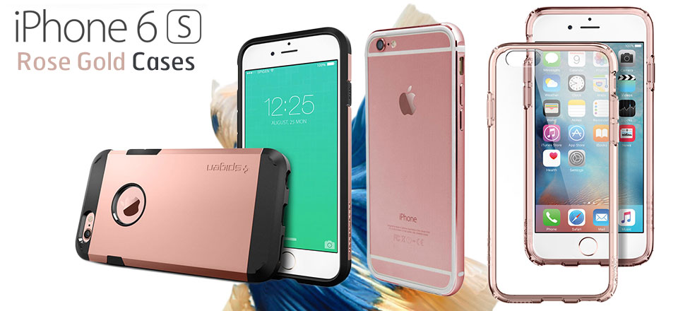 Rose Gold iPhone 6S Cases