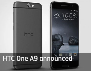 HTC One A9 Announced