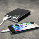 enCharge 10,000mAh Dual USB Portable Charger, SD Card Reader & Torch