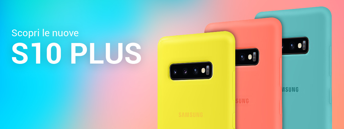Samsung Galaxy S10 Plus Custodie