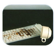 Flexible Full Sized Keyboard