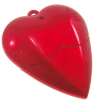 Heart Shaped USB Flash Drive - 2GB