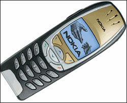 Nokia 6310i Black and Gold