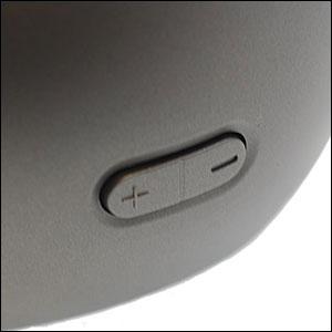 Enceintes Portables Bluetooth Sony Ericsson MBS-200 - Grises vue sur volume