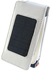 Apple iPhone 3G Solar Case Flip Style - White
