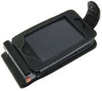 Apple iPhone 3G Solar Case - Flip Style - Black
