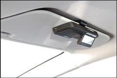 LCD Bluetooth Visor Car Kit