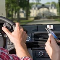 Attach on the wheel and control from your fingertips