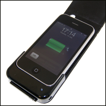 iPhone 3G & iPhone 3GS Charging Leather Case