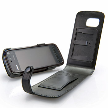 Capdase Classic Leather Flip Case for Nokia 5800 XpressMusic