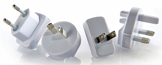 Adapter und Auto Ladekabel