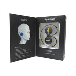 Avantalk Jogger Bluetooth Headset Titanium Silver