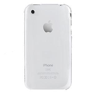 Coque iPhone 3GS / 3G SwitchEasy NUDE - Transparente (arrière)
