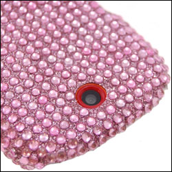 Samsung Genio Diamante Back Cover - Pink