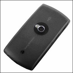 Sony Ericsson Vivaz Silicone Case - Black