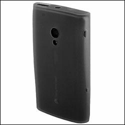 Silicone Case for Sony Ericsson Xperia X10 - Black