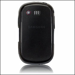 FlexiShield Skin For Samsung C3510 Genoa - Black