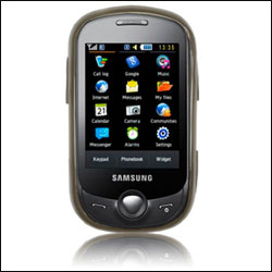 FlexiShield Skin For Samsung C3510 Genoa - Black
