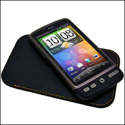 HTC Desire sur la housse PO S510