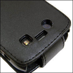 Flip Case For BlackBerry Bold 9700 - Black