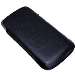 Slim Line Leather Pull Case - HTC Desire