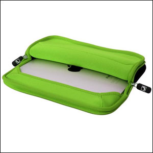 Cool Bananas RainSuit P2 Neoprene Sleeve for iPad - Green