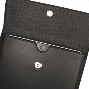Noreve Leather Sleeve for Apple iPad - Black