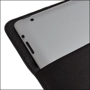 Noreve Leather Sleeve for Apple iPad 2 / iPad - Black