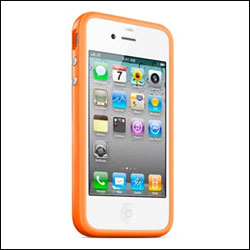Apple iPhone 4 Bumper - Orange