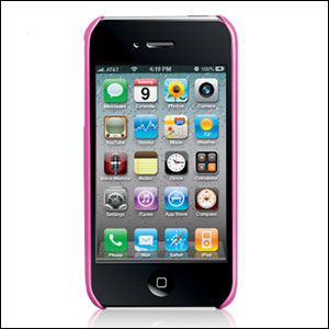 Case-Mate Barely There For iPhone 4 - Pink