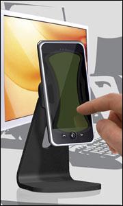 Stand Podium Universel Clingo de bureau pour téléphone sur bureau