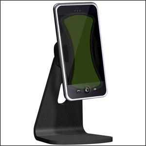 Stand Podium Universel Clingo de bureau pour téléphone avec téléphone