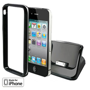 Apple iPhone 4 with Bumper USB Cradle
