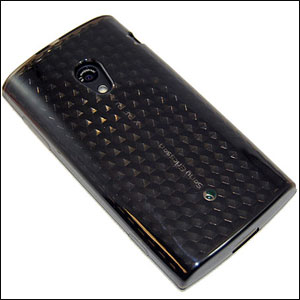 Advanced FlexiShield Skin For The Sony Ericsson Xperia X10 - Black