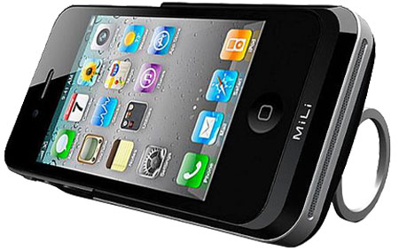 MiLi Power Pack 4 3000mAh external battery pack for iPhone 4