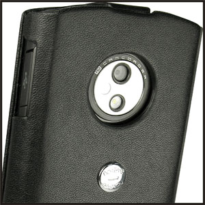 Noreve Tradition A Leather Case for LG Optimus 7 - Black