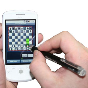 DAGi Smartphone Slim Line Capacitive Stylus - Silver
