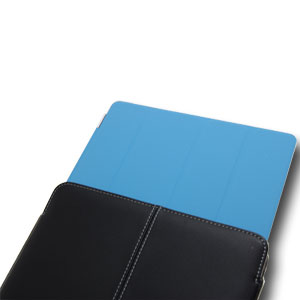 Pro-Tec Executive iPad 3 / iPad 2 Smart Cover Compatible Leather Case - Black