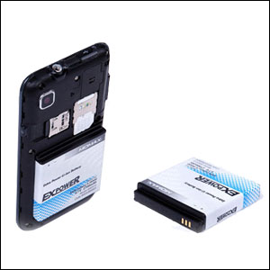 Momax EXPower Replacement Battery For Samsung Galaxy S i9000 - 2700mAh